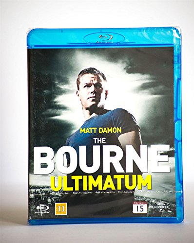 Die Bourne Ultimatum Blu-Ray Action Region B Neu (Bourne Ultimatum Blu-ray Das)
