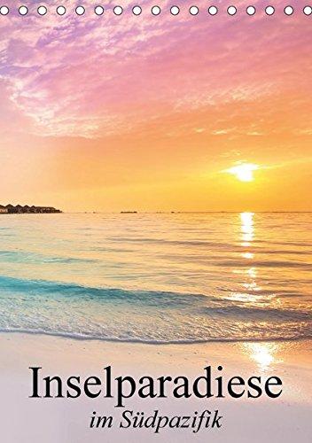 Inselparadiese im Südpazifik (Tischkalender 2017 DIN A5 hoch): Eine Reise zu den paradiesischen Trauminseln am Ende der Welt (Planer, 14 Seiten) por Elisabeth Stanzer