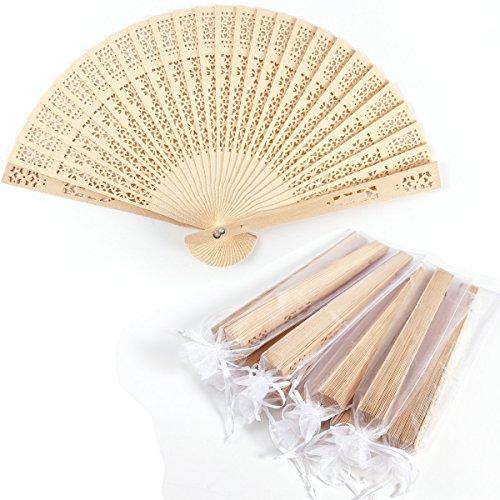 CLE DE TOUS - LOTE 10 UND Abanico de madera Troquelaso Abanicos...