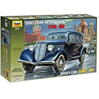 Zvezda 500783634-01:35 GAZ M1 Soviética Personal del coche