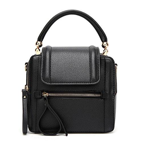 Mefly La Moda Femminile Crossbody Bag Sacca E Nuove Borse Nero black