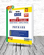 Shivdas CBSE Past 7 Years Solved Board Papers and Sample Papers for Class 12 Physics (As per 2021 CBSE Reduced