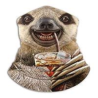 antfeagor Sloth Juice Valentine 2020 for Women Men Dust Wind Sun Protection Seamless Bandana Face for Rave Festival Outdoor Running Tube Multifunctional Headwear