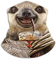 antfeagor Sloth Juice Valentine 2020 for Women Men Dust Wind Sun Protection Seamless Bandana Face for Rave Fes