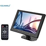 Andoer M1010 TFT- LCD 10.1 Ultra HD Monitor IPS Assit Focus AF On-camera High Resolution 1280*800 with HDMI VGA Video Audio Input for Video DSLR Camera with Remote Controller