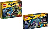 The LEGO Batman Movie 70913 - Kräftemessen mit Scarecrow + The LEGO Batman Movie 70902 - Catwoman: Catcycle-Verfolgungsjagd