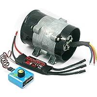 Supercargador eléctrico para coche tipo Y, 5 cables, 380 W, ventilador de entrada