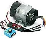 y-type 5-wire 380W auto elettrica compressore ventola di aspirazione Turbo Boost 12V 16.5a