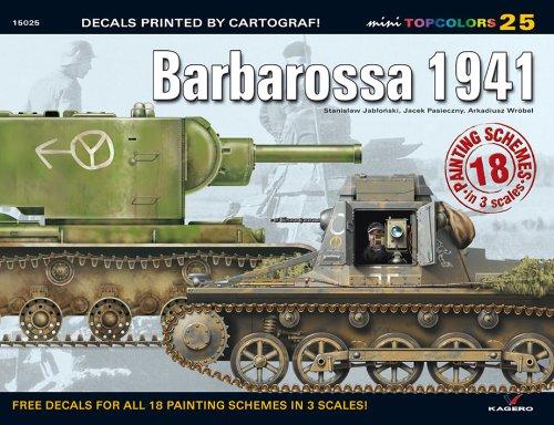 Barbarossa 1941 (Mini Topcolors) por Stanislaw Jablonski