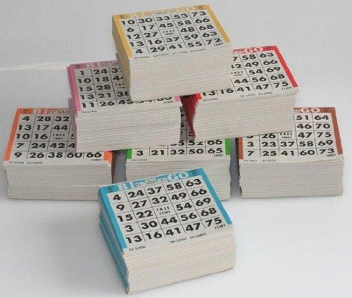 Bingo Karten, 3500 Tickets, für 1-75 Bingo Spiel