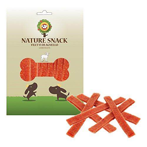 Nature Snack Filetti di Agnello per Cani (100gr)