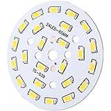 soxid (TM) alta calidad DC36–41V 12W redondo 5730SMD 24LED super brillante LED chip lámpara de luz bombillas luz blanca cálida/luz blanca