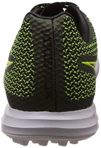 Nike Magistax Finale TF, Chaussures de Football Homme Noir / citron vert / blanc (noir / noir - électrique - blanc)