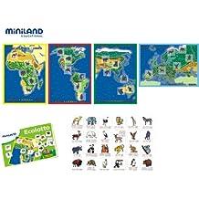 Miniland - Ecolotto animales (36056)
