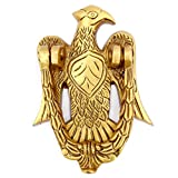 #5: Susajjit Brass Door Knocker of Eagle Animal Good for Home and Office, Decorative Door Décor and Hardware