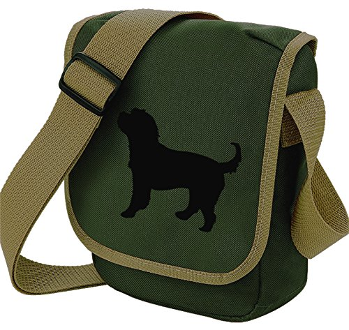 Bag Pixie, Borsa a spalla donna Black Dog Olive bag