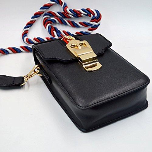 Millya , Damen Umhängetasche, schwarz (schwarz) - bb-00625-01 schwarz