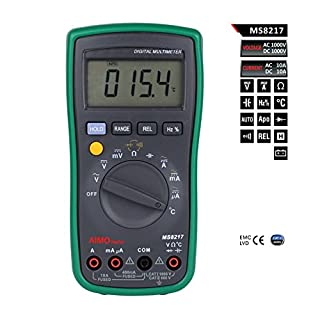 Aimometer MS8217 AC DC Autoranging Digital Multimeter Temperature Frequency Duty Cycle Mesurement Tester Multimetro