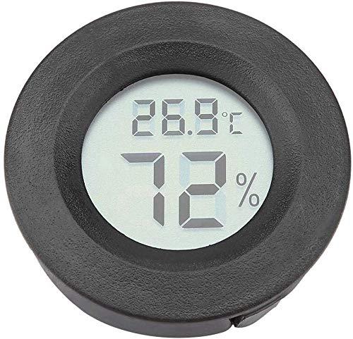 Eidyer Reptilien Thermometer und Hygrometer Digital Reptile Thermometer LCD Temperatur Feuchtemessgerät mit großem LCD Display für Terrarium Reptilienbecken Terrarien Inkubatoren Gewächshaus