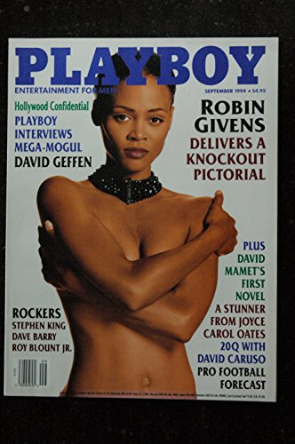 PLAYBOY US 1994 09 ROCKERS STEPHEN KING DAVE BARRY DAVID GEFFEN Kelly Gallagher Robin Givens