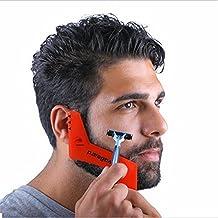 MARGUERAS 1pcs Pochoir à barbe - Template barbe - Contour de barbe