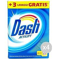 Set 4Dash fût 25mis Actilift Poudre Lessive Machine à laver et linge