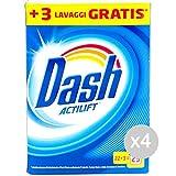Set 4Dash Schaft 25MIS Actilift Pulver Waschmittel WASCHMASCHINE und Wäsche