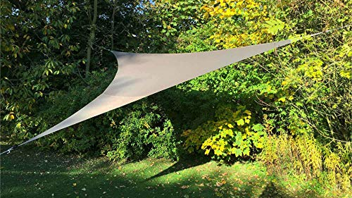 Solys Voile d'ombrage Triangulaire Extensible