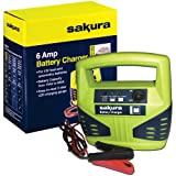 Sakura 6 Amp Battery Charger