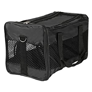 Trixie Transport Bag, 26 × 27 × 47 cm, Black by Trixie