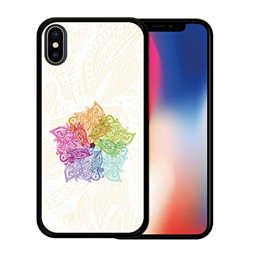 iPhone X Hülle, WoowCase Handyhülle Silikon für [ iPhone X ] Never Stop Dreaming Handytasche Handy Cover Case Schutzhülle Flexible TPU - Transparent Housse Gel iPhone X Schwarze D0150
