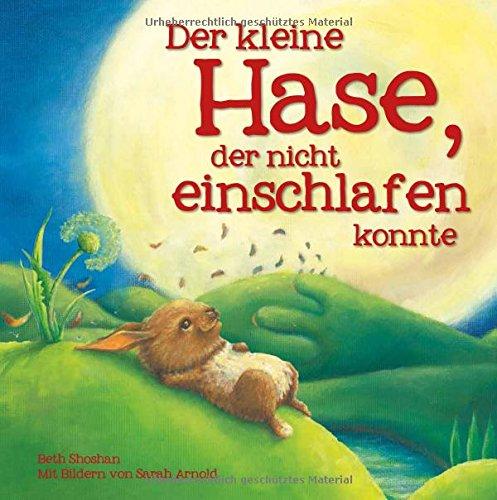 Der kleine Hase, der nicht einschlafen konnte - Blume-bett-satz