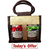 Farm Naturelle-Aesthetically Designed Jute Gift Bag With Pure Raw Natural Unheated Unprocessed Litchi Flower Honey... - B075XJ9PFW