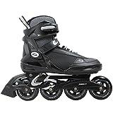Cox Swain Inline Skates -MOREA- Unisex Softboot - Abec 7, Colour: Black, Size: 42