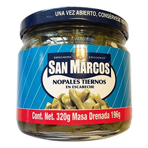 San Marcos - Nopalitos Tender Kaktusstreifen eingelegt - 320g