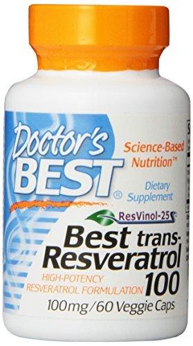 Trans-resveratrol (Beste trans-Resveratrol 100, 100 mg, 60 Veggie Caps - Arzt Besten)