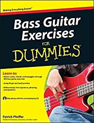 Bass Guitar Exercises For Dummies by Patrick Pfeiffer (2010-11-05)