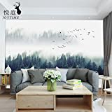 Woo.Z.A Simple style Seamless Oil Canvas Wall Stickers mural for Bedroom Living room TV Background Decor,150*105cm