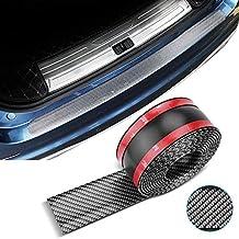Orbeor Universal Gomma Protezione per Paraurti Posteriore Auto Trim Cover Anti Scratch per auto Pickup La Maggior Parte Delle Auto Nere 90CM Paraurti Posteriore Protector