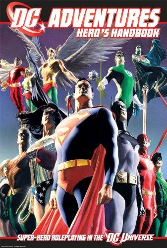 DC Adventures RPG Heros Handbook: Super-Hero Roleplaying in the DC Universe