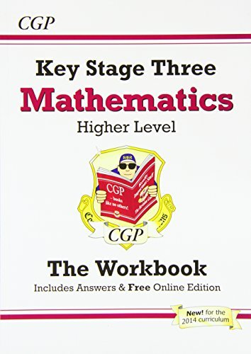By CGP Books KS3 Maths Workbook (with answers and online edition) - Higher: Workbook and Answers Multipack - Levels 5-8
