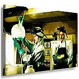 Breaking Bad Leinwandbild LaraArt Bilder Mehrfarbig Wandbild 100 x 70 cm
