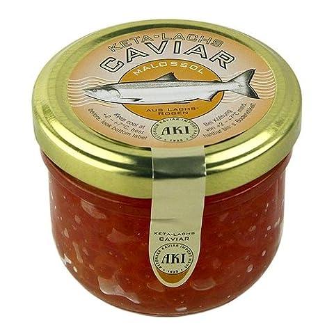 AKI Keta-Kaviar, 100g. | Sparset mit Lacross-Schreibblock
