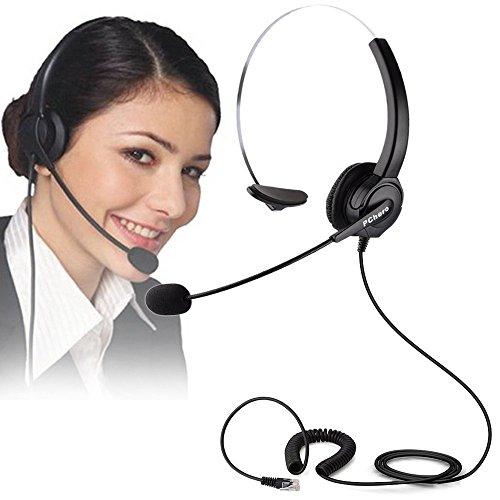 pcherorreemplazo-auricular-telefono-auricular-de-telefono-profesional-estereo-para-telefono-fijo-y-d