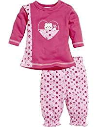 Schnizler 2-Piece Long Sleeve Shirt and Bottoms Hearts, Chándal Para Bebés