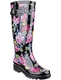 Cotswold - Botas de agua con estampado floral modelo Rosefest para mujer