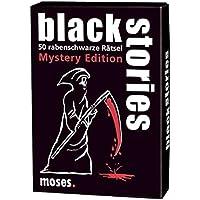 50 rabenschwarze ... black stories Sebastian Fitzek Edition moses Das Spiel