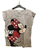 Minnie Mouse Ausrüstung 2 TLN Kurze Hosen + T-Shirt L Grau S