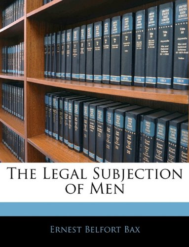 The Legal Subjection of Men