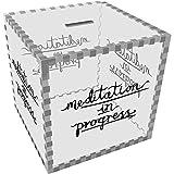 Azeeda Grande 'Meditazione in Corso' Salvadanaio (MB00052234)